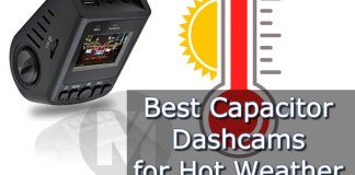 Best Capacitor Dashcams Hot Weather