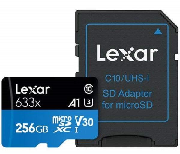 Lexar Endurance 256GB SD