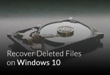 Recover Deleted Files on Windows 10