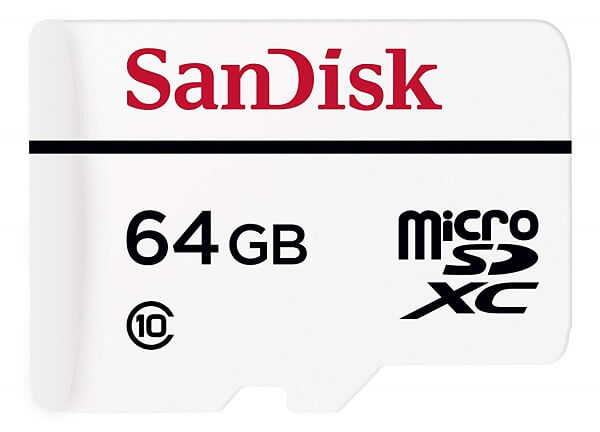 SanDisk High Endurance 64GB SD