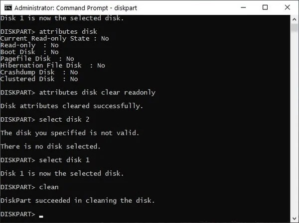 remove write protection from a write protected USB
