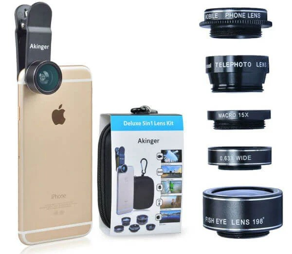 Akinger HD Camera Lens Kit