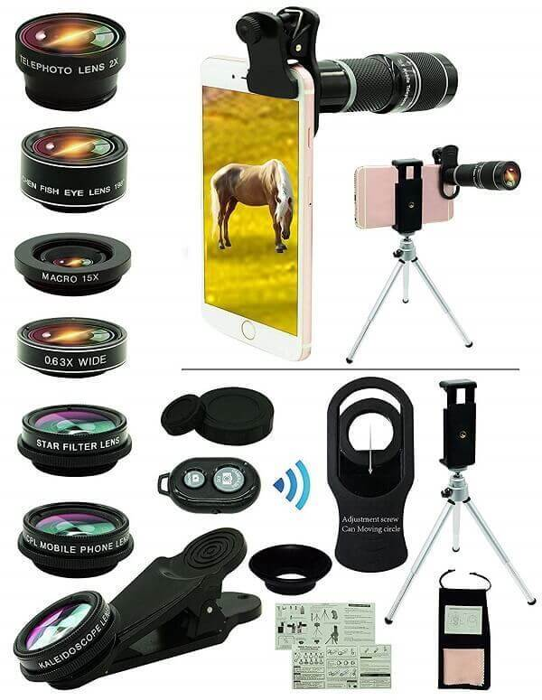Bostionye iPhone Lens Kit