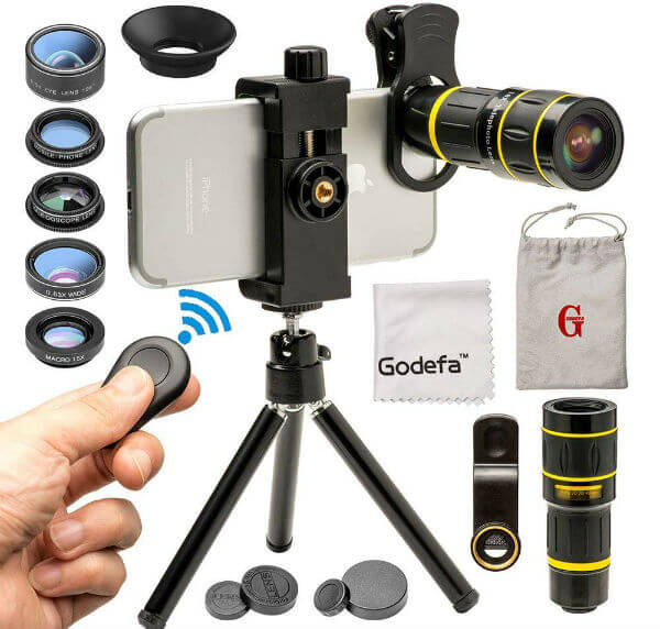 Godefa Cell Phone Camera Lens