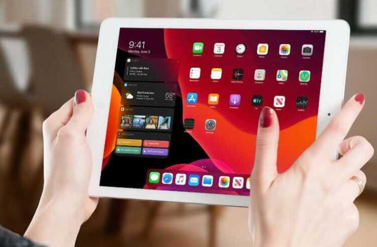 Enable DarkMode iPadOS