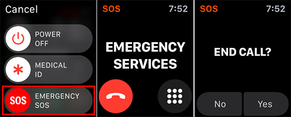 Make SOS Calls from Apple Watch