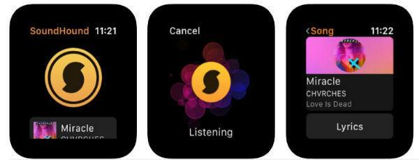 SoundHound Apple Watch App