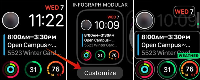 Add App Complication to Apple Watch Face