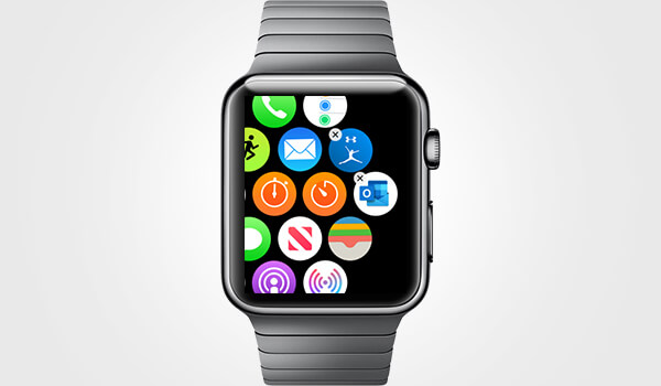 Rearrange App icons on Apple Watch