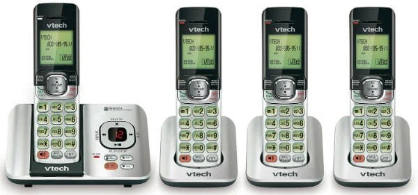 VTech CS6529 Phone Answering System Caller ID