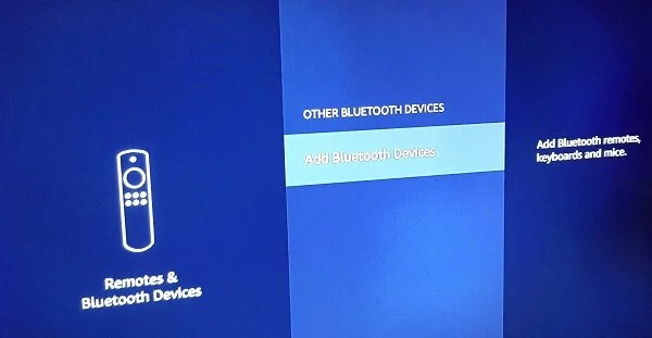 Amazon Firestick Bluetooth Settings