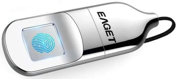 Eaget Fingerprint Encryption USB Flash Drive