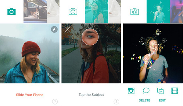Capture 3D Photo using Slide app on iPhone