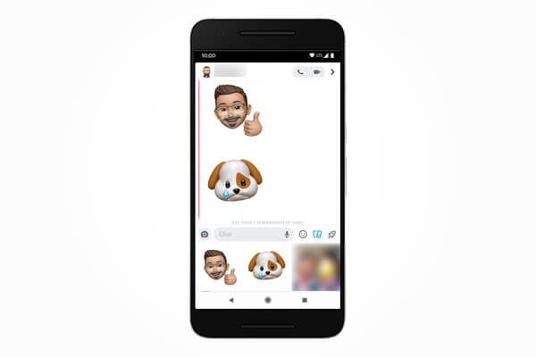 Use Memoji Sticker on Snapchat for Android