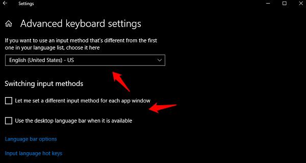 Keyboard Language Keeps Changing on Windows 10 4