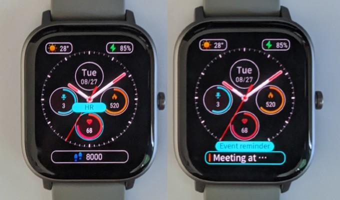 Amazfit GTS Customize Watch Face