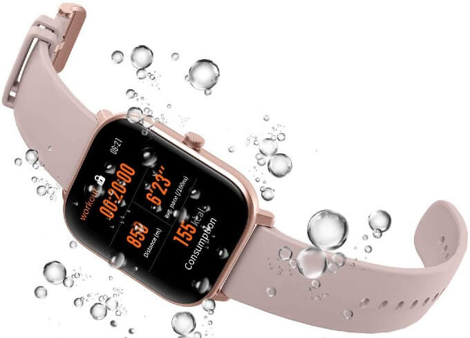 Amazfit GTS Review Water Proof