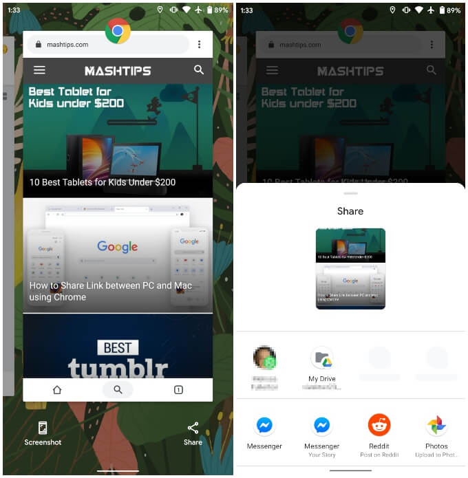 Android 11 New Feature Redesigned Recents Page