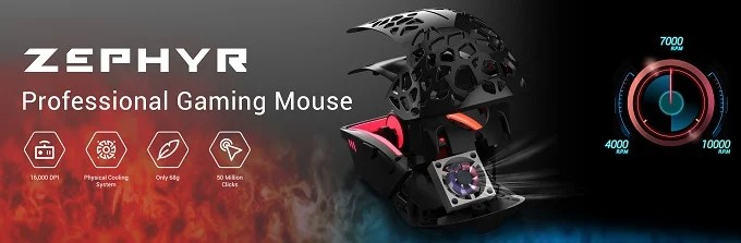 Zephyr Gaming Mouse
