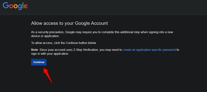 google account access