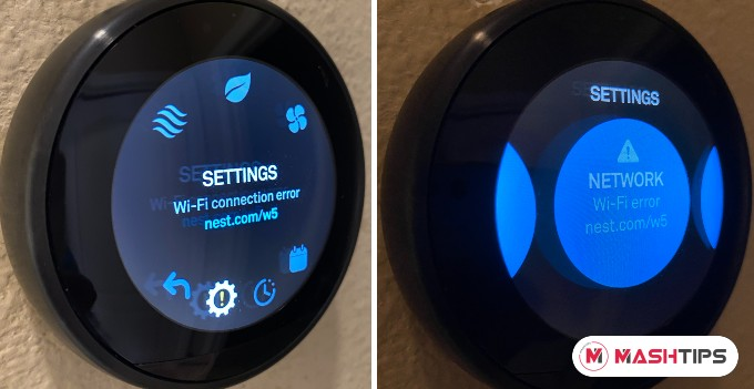 Nest WiFi Network Error