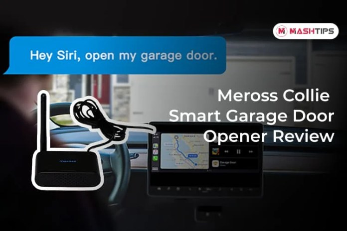 Meross Collie Smart Garage Door Opener Review