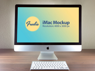 40 Free Imac Mockup Psd Templates Updated 2018