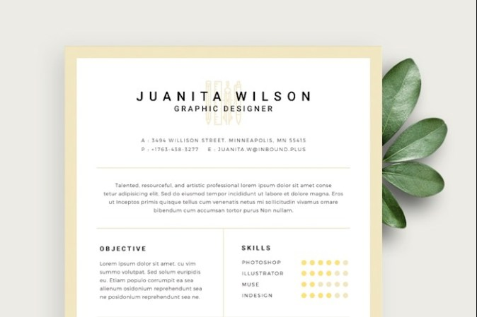 75  Best Free Resume Templates for 2018  Updated  resumecv template