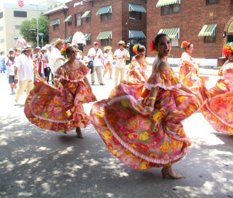 The Ballet Folklorico Las Hijas de Boriken at Carnival Houston