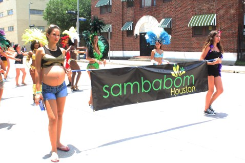 Reppin' for Sambabom in the heat!