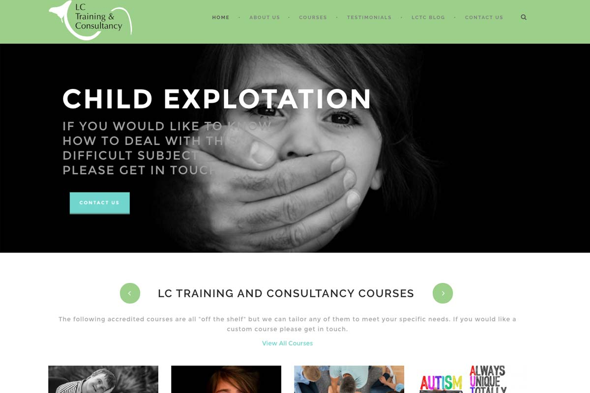 Mashuni - website design in Norfolk