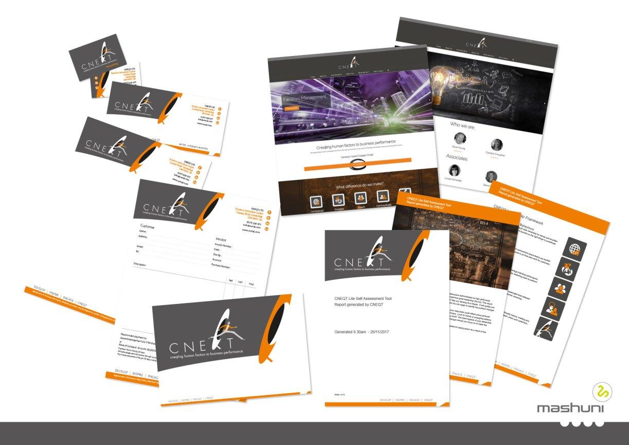 CNEQT case study - mashuni brand identity company in Norfolk
