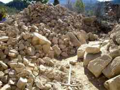 Montón de piedras
