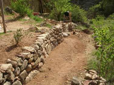 Bancal de piedra seca