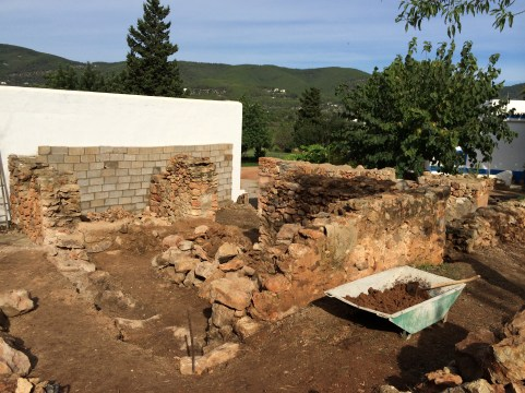 4 Saneamiento y limpieza de los muros
