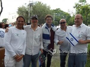 manifestacion pro israel 1225