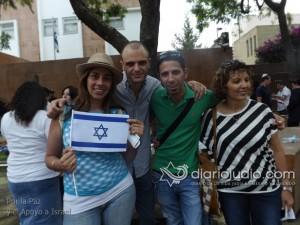 manifestacion pro israel 1234
