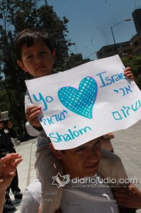Manifestacion Pro Israel Hemicili Juarez  049
