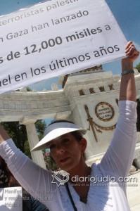 Manifestacion Pro Israel Hemicili Juarez  150