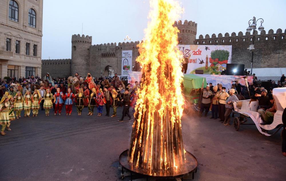 Frühlingsfest in Aserbaidschan — Novruz