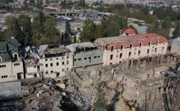 Chronologie der armenischen Artillerieangriffe auf zivile Standorte und Infrastruktur in aserbaidschanischen Städten außerhalb der Kampfzonen in Bergkarabach