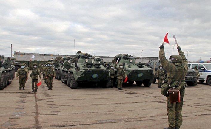 ORF: Russland schickt Friedenstruppen nach Karabach
