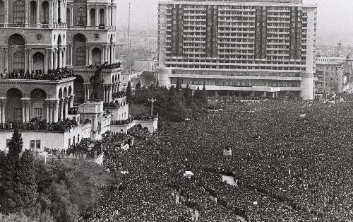 Pogrom in Baku — Schwarzer Januar von Baku