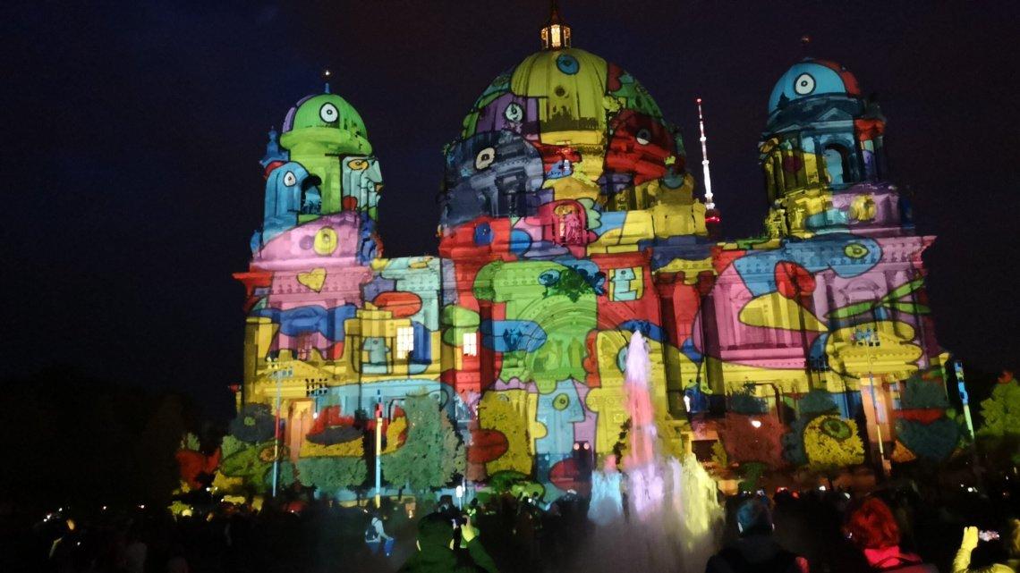 Фестиваль света в Берлине 2019 — Festival of Lights in Berlin 2019