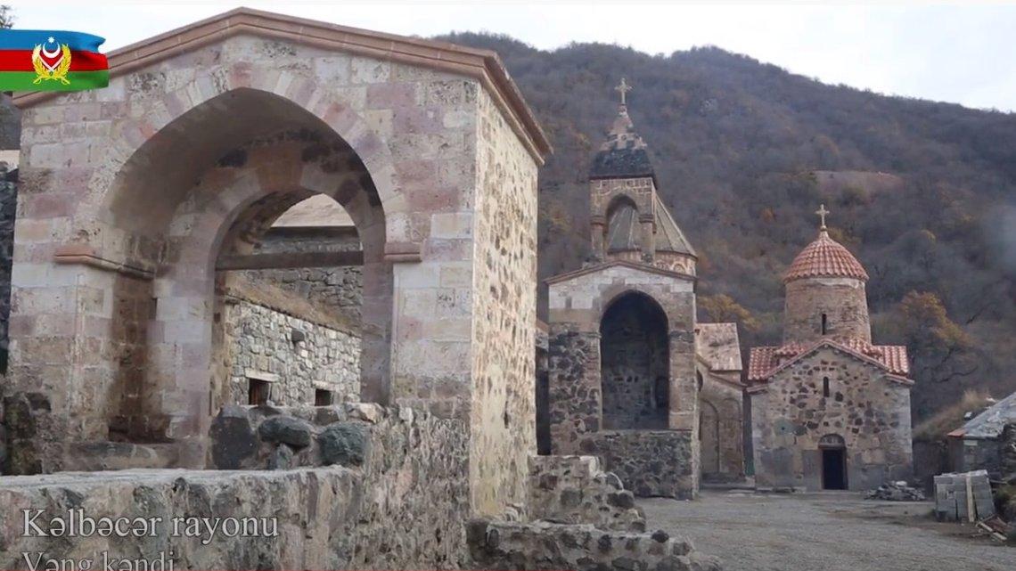 Hoffnung in Bergkarabach: Drei Konfessionen beten an umstrittenem Kloster