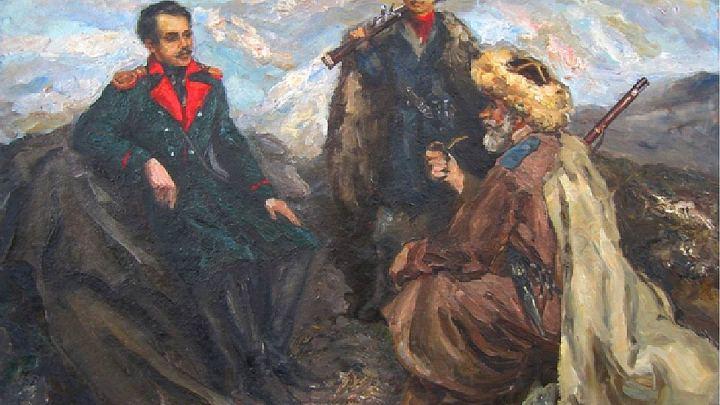Лермонтов в Азербайджане — творчество