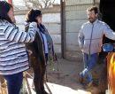 Funcionarios de Producción visitaron a emprendedores de Macachín