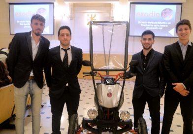 Exodia, un vehículo sustentable e inclusivo inventado en Argentina