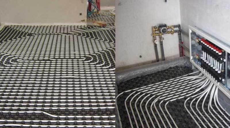 ¿Qué es el piso radiante?