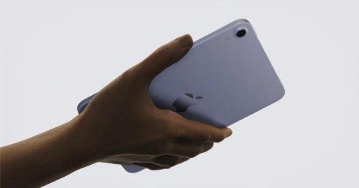 Nuevo modelo de iPad mini.